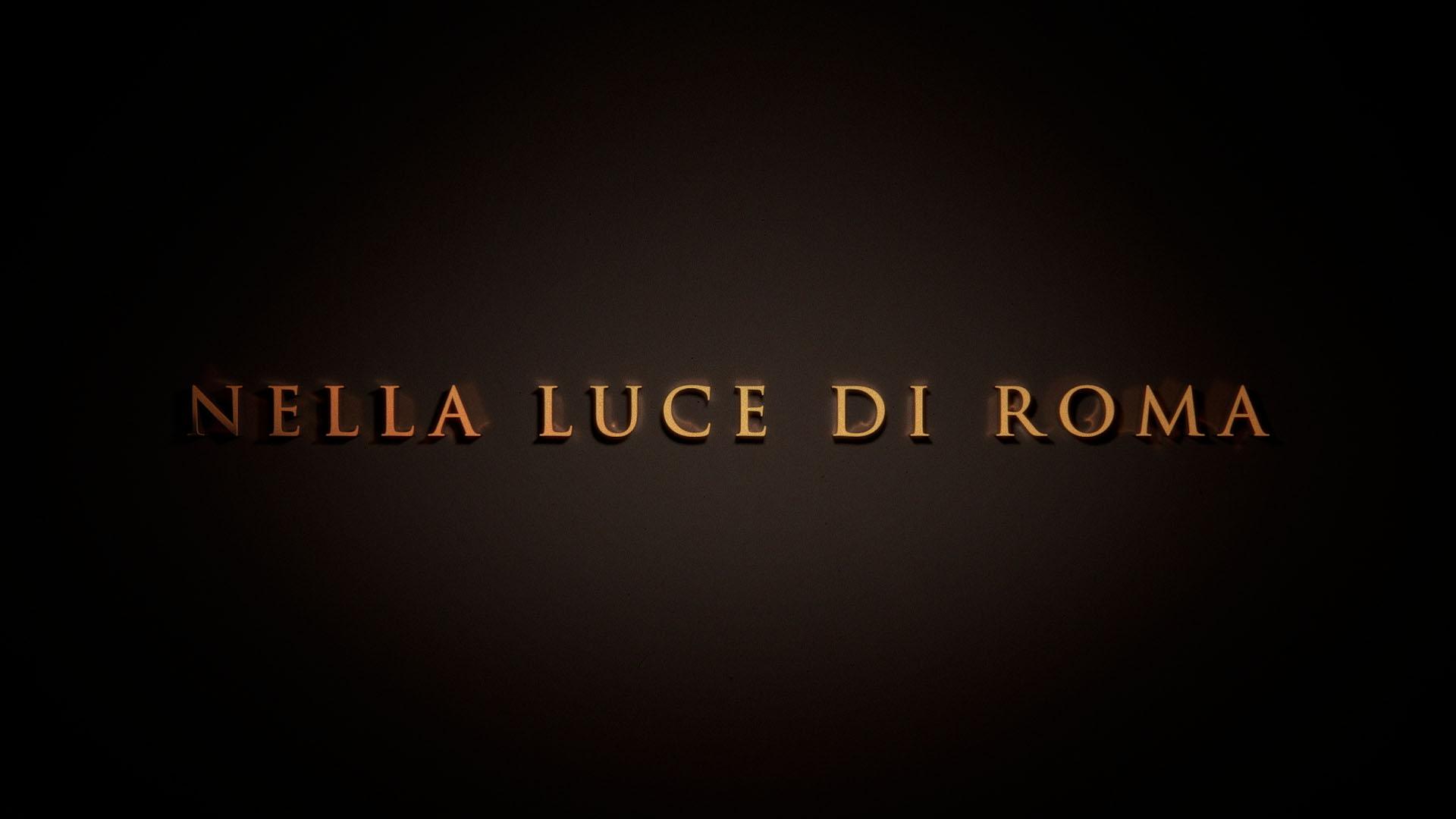 Nella luce di Roma